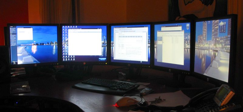 multiple monitors for coding