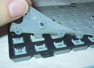 Inside a membrane keyboard